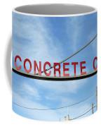 Concrete Company Coffee Mug