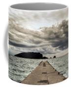 Concrete Pier Off-season Coffee Mug