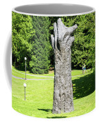 Concrete Tree On Campus Coffee Mug