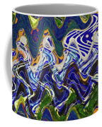 Condos On The Beach Abstract Coffee Mug