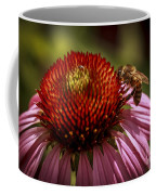 Coneflower Bee Coffee Mug