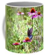 Coneflower Companion Coffee Mug