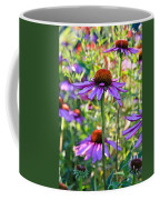 Coneflower Pedals Coffee Mug