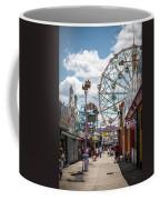 Coney Island Boardwalk IIi Coffee Mug