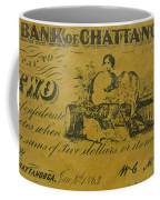 Confederate Currency  Coffee Mug