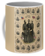 Confederate Generals Of The Civil War Coffee Mug by War Is Hell Store