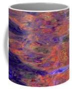 Contour Of Hot Energy Lines Coffee Mug