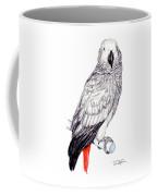 Congo African Grey Parrot Coffee Mug