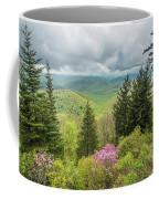 Conifers And Blooms Coffee Mug
