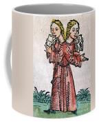 Conjoined Twins, Nuremberg Chronicle Coffee Mug