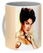 Connie Francis, Music Legend By John Springfield Coffee Mug