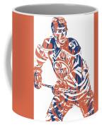 Connor Mcdavid Edmonton Oilers Pixel Art 3 Coffee Mug