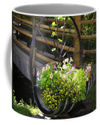 Contained Flowers  Coffee Mug