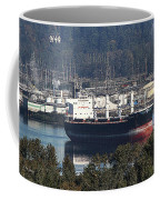 Container Ship Ready To Load More Lumber Coffee Mug