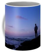 Contemplation At Sunset Coffee Mug