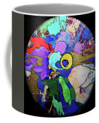 Contemporary Art - Abstract In The Round  Coffee Mug