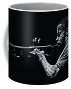 Contemporary Jazz Trumpeter Coffee Mug