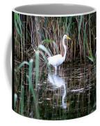 Content Egret  Coffee Mug
