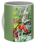 Content Gnome With Bleeding Hearts Coffee Mug