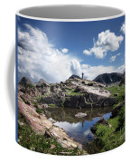 Continental Divide Above Twin Lakes 2 - Weminuche Wilderness Coffee Mug