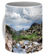 Continental Divide Above Twin Lakes 3 - Weminuche Wilderness Coffee Mug