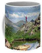 Continental Divide Above Twin Lakes 4 - Weminuche Wilderness Coffee Mug