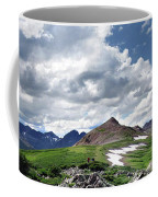 Continental Divide Above Twin Lakes 6 - Weminuche Wilderness Coffee Mug