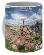 Continental Divide Above Twin Lakes - Weminuche Wilderness Coffee Mug