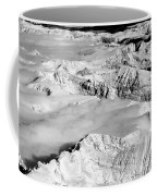 Continental Divide Clouds Rocky Mountains Coffee Mug
