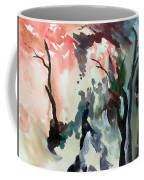 Contrasting Autumn Coffee Mug