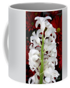 Contrasting Red And White Flowers Coffee Mug