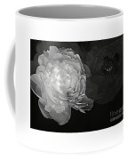 Contrasts In Floral Kingdom In Black And White. Coffee Mug