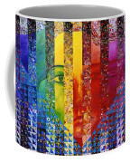 Conundrum I - Rainbow Woman Coffee Mug