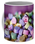 Conversation Hearts Coffee Mug
