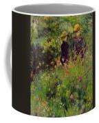 Conversation In A Rose Garden 1876 Coffee Mug