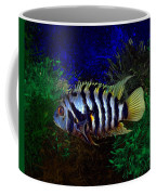 Convict Cichlid Fish Coffee Mug