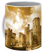 Conwy Castle And The Telford Suspension Bridge North Wales Coffee Mug