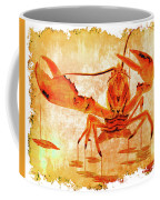 Cooked Lobster On Parchment Paper Coffee Mug