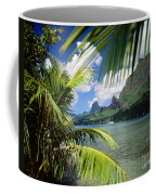 Cooks Bay With Sailboat Coffee Mug