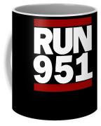 951 Design Run California Gifts 951 Shirt Coffee Mug