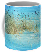 Cool Blue Blowing In The Wind Coffee Mug