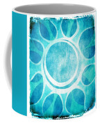 Cool Blue Flower Coffee Mug