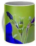 Cool Blue Fuzzy Feeling Coffee Mug