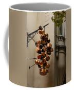Cool Copper Pots - Parisian Restaurant Left Bank La Rive Gauche Coffee Mug