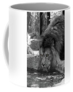 Cool Drink Of Water  Black And White  T O C Coffee Mug