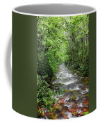 Cool Green Stream Coffee Mug