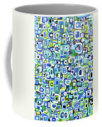 Cool Squares And Shapes Coffee Mug