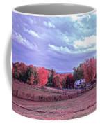 Cool Sunset Autumn Farm Coffee Mug