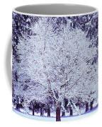 Cool Sunset Essence Of Winter Coffee Mug