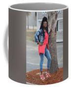Cool With Braids 6  Coffee Mug